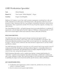 Mckinsey Cover Letters Statement Of Work Template Consulting