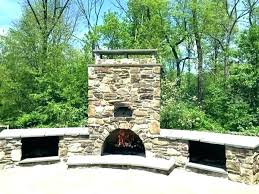 outdoor fireplace and pizza oven outdoor e pizza oven combo rustic stone combination plans outdoor fireplace