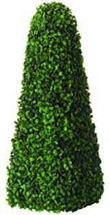 2pack Outdoor Garden 30 Bright White LED Solar Topiary Tree Bush Artificial Topiary Trees With Solar Lights