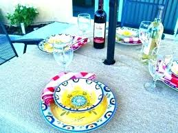 outdoor patio umbrella tablecloths tablecloth with zipper and elastic hole round outdoor patio umbrella tablecloths