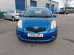 Used 2006 Toyota Yaris T Spirit VVT-I 5dr for sale in Cardiff ...