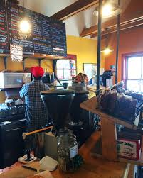 The beloved roaster pours scruffy mountaineers their morning cup in a former coal shed plastered with vintage license plates. Blissful In Crested Butte Part 3 The Real Life