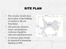 Drawings Site Architectural Working Drawings Part 1