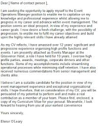 Cover Letter Review 11 Event Manager Sample Techtrontechnologies Com
