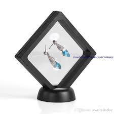 Gem Display Stands 100 Bulk Price Transparent Suspension Gift Window Box Gemstone 10