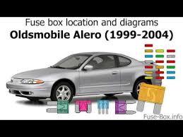 oldsmobile alero (1999 2004 1999 Oldsmobile Intrigue Engine Diagram 1999 Oldsmobile Intrigue Interior