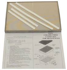 tec patio ii ceramic plate with gasket kit great savings on tec gas grill replacement parts