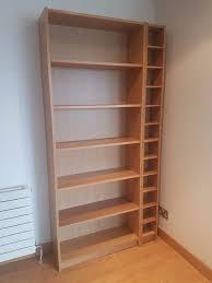 Ikea Billy Bookcase Ikea Billy Bookcase In Oak Veneer Plus Bonus Free Cd Rack In