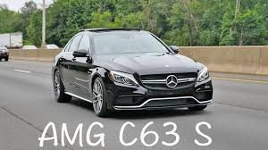 Mercedes-Benz AMG C63 S 2016 2017 review - YouTube