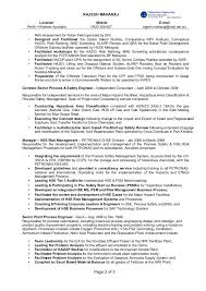 Amazing Process Engineer Resume Sample About Process Safety Engineer