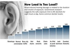 Ambient Noise Level Chart Background Noise How Much Is Acceptable Hush City