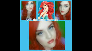 disney princess ariel the little mermaid makeup tutorial