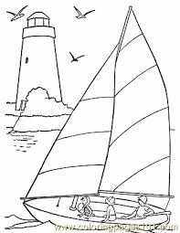 Small Picture free printable coloring image 001 Sail Boat Coloring Pages