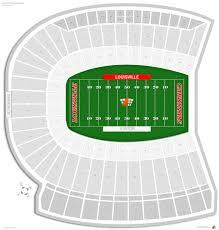 Louisville Seating Chart Football Cardinal Stadium Louisville Seating Guide Rateyourseats Com
