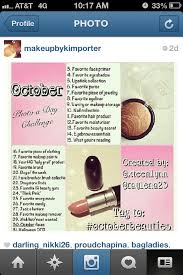 have you pared in any of these insram photo of the day beauty challenges how do you like them