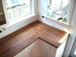wood wide plank butcher block counter tops kitchen s countertop ideas rustic homemade