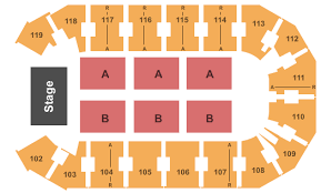 Independence Events Center Detailed Seating Chart Travis Tritt Charlie Daniels Band Tickets At Silverstein