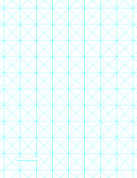 One Inch Graph Paper Triangles Are Set Against A One Inch Grid In This Blue Graph Paper