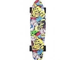 Купить <b>скейтборд</b> Y-Scoo <b>RT Fishskateboard</b> Print 22 (<b>401G-С</b>) с ...