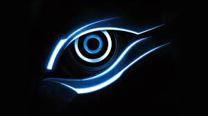 3840x2160 Ultra HD 4K Blue Gigabyte Eye ...