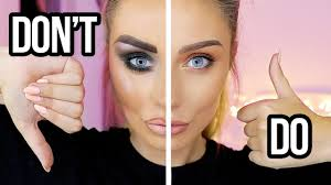 makeup do s and don ts for beginners makeup mistakes to avoid dani mansutti