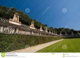 Anfiteatro antico nei giardini di boboli firenze italia