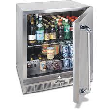 Refrigerator Outdoor Alfresco 28 Inch 72 Cu Ft Outdoor Rated Compact Refrigerator