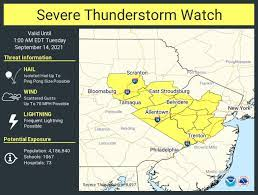 N.J. weather: Severe thunderstorms ...