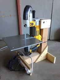 harbor freight bandsaw stand. bandsaw stand from scrap lumber harbor freight t