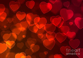 Hearts Background Photograph By Carlos Caetano