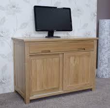 traditional hidden home office desk. Modren Office Office Sideboard Eton Solid Oak Furniture Home Pc Hideaway Computer  Desk Sideboard F For Traditional Hidden Home Office Desk
