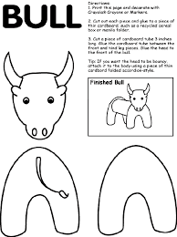 Small Picture Bull Coloring Page crayolacom