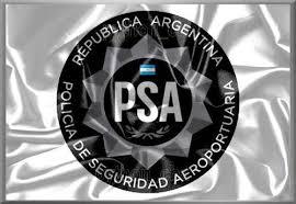 Resultado de imagen para POLICÍA DE SEGURIDAD AEROPORTUARIA. Logo