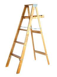 old wooden step ladders for wood ladder 6 ft