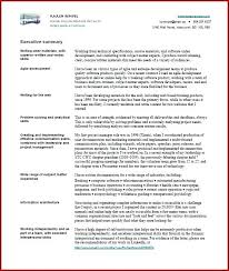 Executive Summary Sample For Proposal Technical Executive Summary Sample Solacademy Co