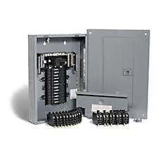 shop breakers fuses at homedepot ca the home depot 100 amp 24 spaces 48 circuits maximum qwikpak panel package breakers