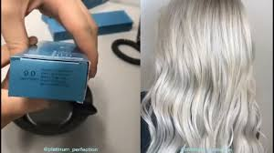 Fanola Colour Chart Shady Rooty Blonde By Zach Mesquit Using Fanola Colors