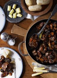 spanish style oxtail braised with chorizo red wine and smoked paprika