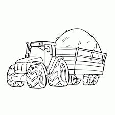 20 Beste Kleurplaat Boerderij Tractor Win Charles