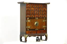 Antique Apothecary Cabinet Sold Apothecary Korean Traditional Cabinet Or 22 Drawer Jewelry