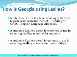 Lexiles And The Lexile Framework Ppt Download