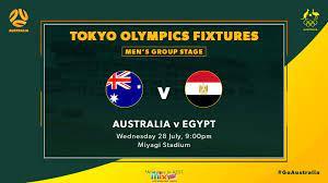 بث مباشر  مشاهدة مباراة مصر واستراليا اليوم 28/07/2021 في الأولمبياد
