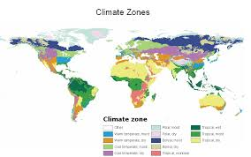 World Climate Zone Chart 38 Abundant Map Of Different Climate Zones