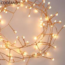 Outdoor Cluster Christmas Lights 33ft 300led Cluster String Lights Branch Tree Outdoor Copper