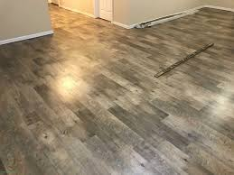 dockside sand mannington adura luxury vinyl plank glue down in basement