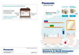 Wall Mount Bathroom Exhaust Fans Wall Mount Ventilating Fan Panasonic Eco Solutions Pdf