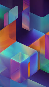 4k 5k wallpaper hd samsung cubes background vertical