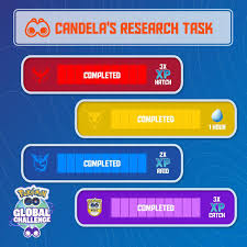 Pokémon GO - Thanks for helping Candela step up to Professor Willow's  Global Challenge, Trainers! You've all unlocked an amazing week of  XP-themed bonuses! ✓ 3× Catch XP ✓ 1-hour Lucky Eggs