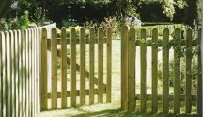 image of wood gate designs plans