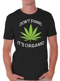 Awkward Styles Dont Panic Its Organic T Shirt Weed Kush Shirt